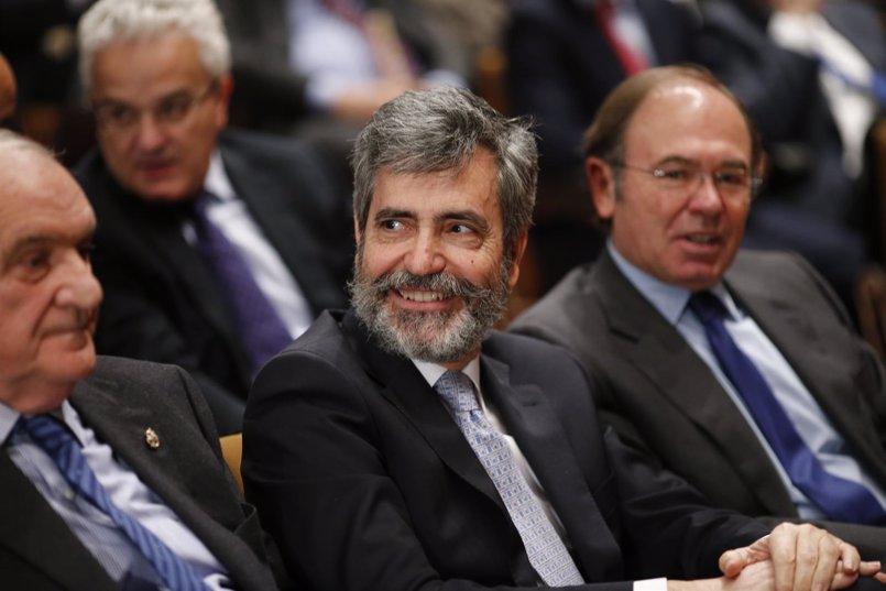 """Lesmes afirma que el Supremo no va a """"tardar mucho"""" en decidir sobre la condena de Urdangarin"""