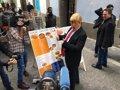 DONALD TRUMP SE DA UN PASEO POR LAS PALMAS DE GRAN CANARIA PARA PROMOCIONAR EL ULTIMO SHOW DE JAVIER GURRUCHAGA