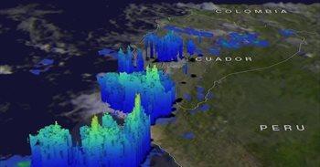 'El Niño costero' generó nubes de tormenta de 13 kilómetros en Perú