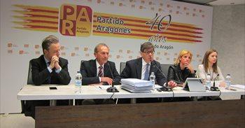 El PAR pide al PP que cumpla el pacto electoral, que contiene el respeto...