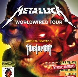 Metallica esgota les entrades per als concerts de Madrid i Barcelona (LIVE NATION)