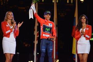El Movistar Team desmiente que Nairo Quintana haya sufrido un accidente