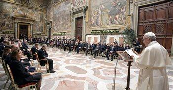 """El Papa defiende ante los líderes europeos que la solidaridad es """"el..."""