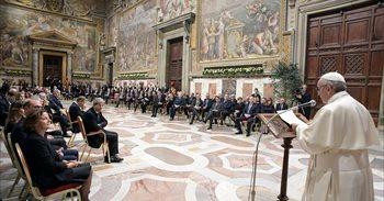 """El Papa defèn davant els líders europeus que la solidaritat és """"el millor..."""