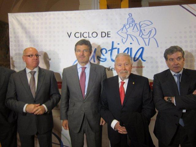 Catalá, antes de participar en el ciclo en Olmedo.