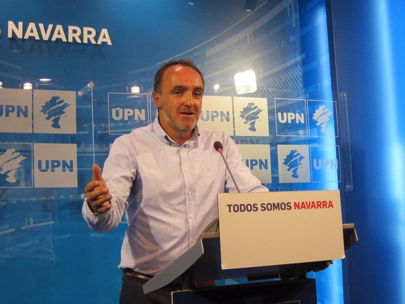 """Esparza dice que ante el comunicado de desarme de ETA """"hay formaciones que quieren olvidar rápido"""""""
