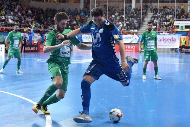 Movistar Inter derrota al Magna Gurpea en LNFS