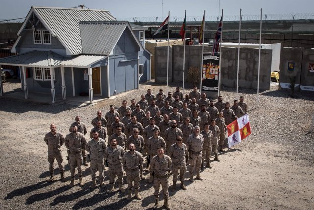 Besmayah.- Contingente castellanoleonés desplegado en Iraq