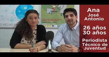 """Ana y José Antonio, jóvenes gitanos: """"Se sigue considerando a la..."""