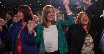 Susana Díaz lanza este domingo en Madrid su candidatura a las primarias...