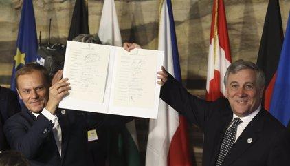 """La Unión Europea celebra sus 60 años decidida a """"actuar juntos, a distintos ritmos y distinta intensidad"""""""