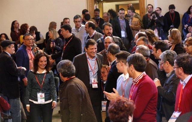 Presidente de la Gestora del PSOE, Javier Fernández