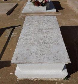 Tumba del cementerio cristiano de Melilla