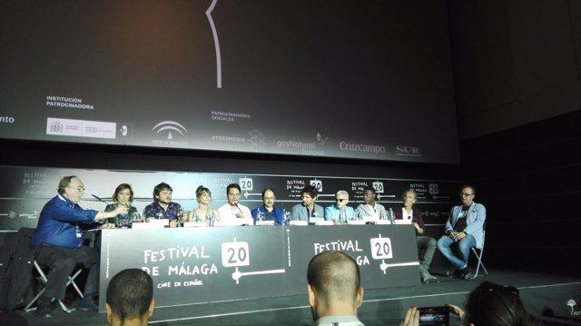 Rueda de prensa sobre 'Señor, dame paciencia' en el Festival de Málaga
