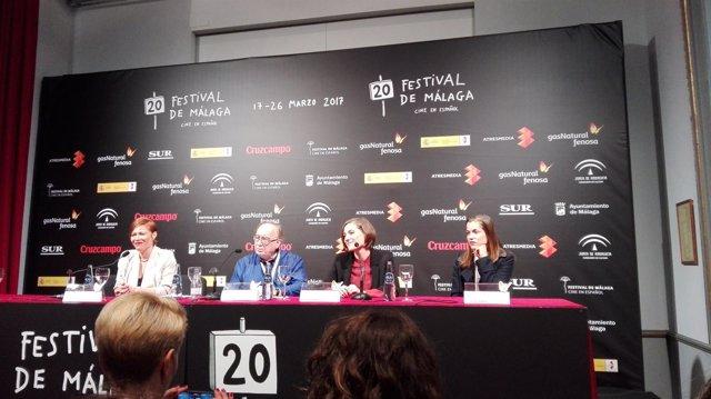 Rueda de prensa cierre festival de cine málaga 2017 carla simón biznaga de oro