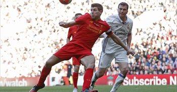 El Real Madrid cae ante el Liverpool (4-3) en el partido solidario de...