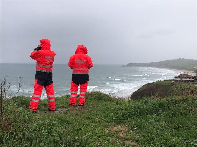 Bomberos en litoral