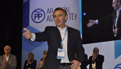 Luis María Beamonte, elegido presidente del PP Aragón con más del 97% de  los votos