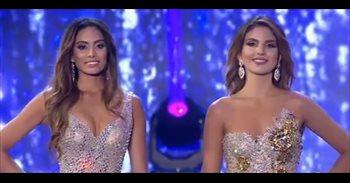 VIDEO/ La extraña reacción de una de las finalistas de Miss Colombia al...