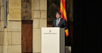 Carles Puigdemont viaja el lunes a Estados Unidos para explicar el...
