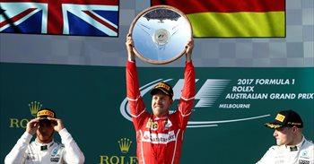 Vettel sorprende a Mercedes y se pone líder; Sainz termina octavo y...