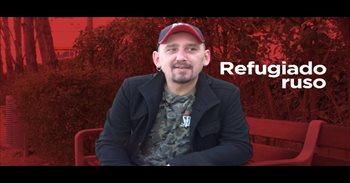 """Eugenio, refugiado ruso: """"Lo más duro al llegar a España fue el miedo por..."""