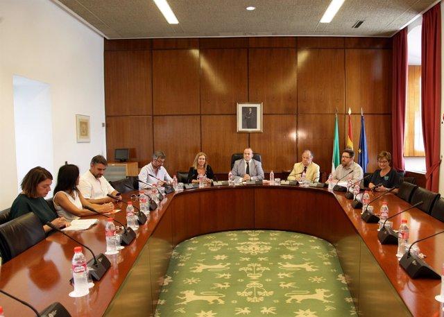 Comisión de investigación por los cursos de formación en el Parlamento andaluz