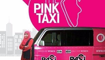 Taxis rosas en Pakistán para proteger a las mujeres del acoso en el transporte público