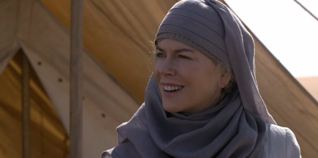 Nicole Kidman en La reina del desierto
