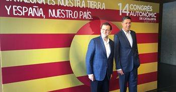 """Rajoy bendice a Albiol como """"gestor eficaz"""" que hará del PP el partido..."""