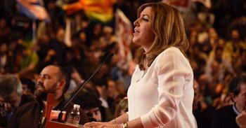 """Susana Díaz: """"Hoy entre todos empezamos a recuperar el PSOE de la ilusión"""""""