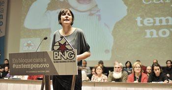 """Ana Pontón afianza o seu liderado nun BNG que avisa de que está """"en pé,..."""