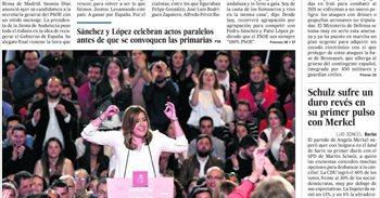 Las portadas de los periódicos de hoy, lunes 27 de marzo de 2017