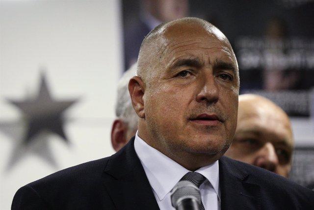 El líder del partido GERB, Boiko Borisov
