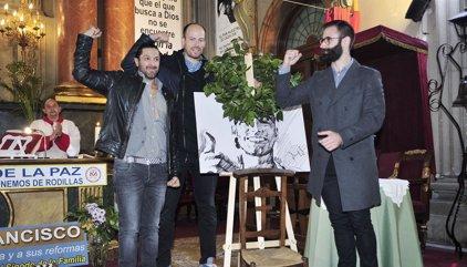 Rafael Amargo se emociona al recordar la enfermedad de su padre en el funeral de Pablo Ráez