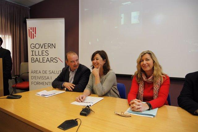 Armengol confirma que el Hospital de Formentera tendrá este año un TAC