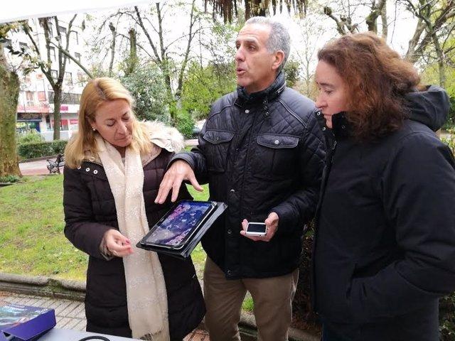 Presentación del sistema de riego inteligente en Cáceres