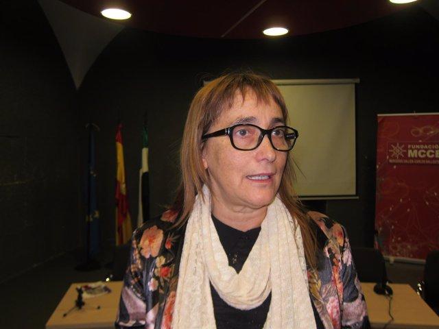 Toni Álvarez, directora del Cemart de Extremadura
