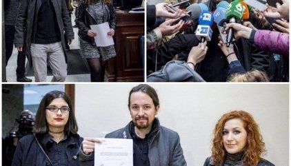 Podemos pide suprimir el delito de enaltecimiento del terrorismo del Código Penal