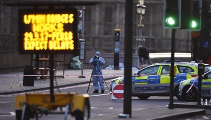 El terrorista de Londres conducía a más de 120 kilómetros por hora