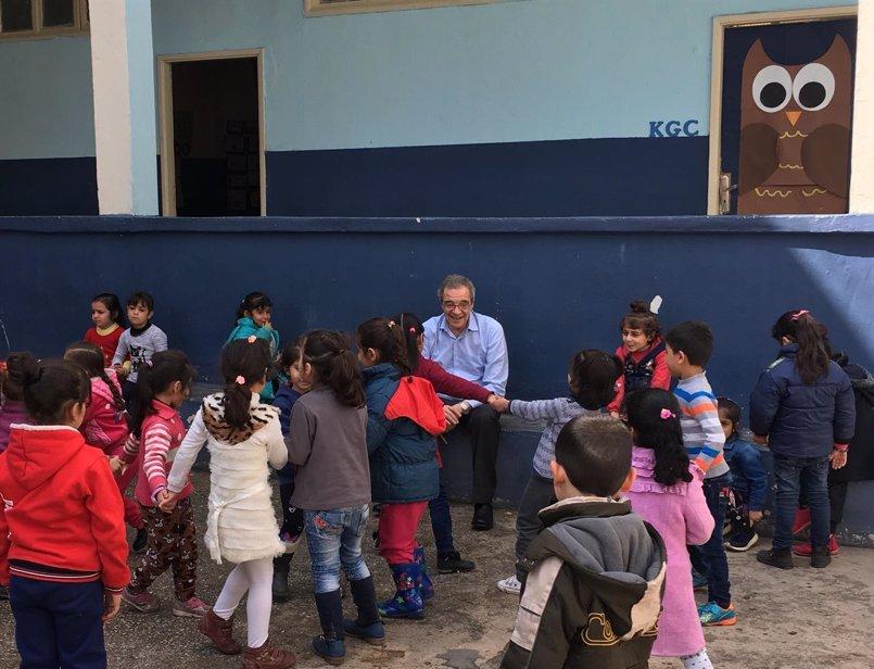 La educación digital de ProFuturo llega a los campos de refugiados de El Líbano