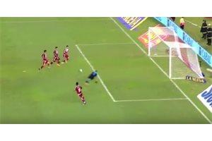 VÍDEO/ El increíble error de River Plate: cuatro contra uno y fallan el gol a puerta vacía