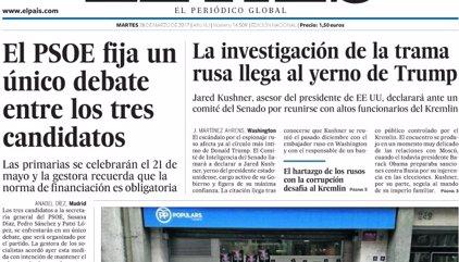 Las portadas de los periódicos de hoy, martes 28 de marzo de 2017