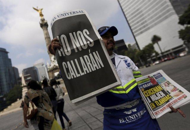 """""""No Nos Callarán"""" Periodistas Asesinados México"""