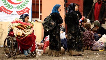 La ONU cifra en casi 200.000 los desplazados por la ofensiva contra Estado Islámico en la zona occidental de Mosul
