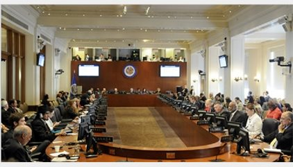 La OEA niega haber recibido ninguna solicitud de Venezuela para cancelar la reunión del martes