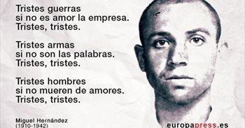 75 años sin Miguel Hernández: 10 de sus poemas fundamentales