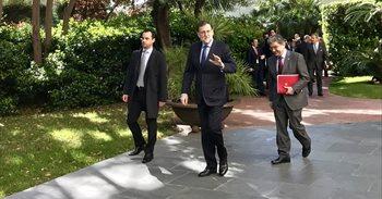 Rajoy dice que el tramo catalán del Corredor Mediterráneo acabará en...