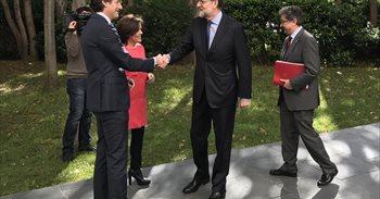 """Rajoy asegura que el plan de inversión en Rodalies es """"realista, viable y..."""
