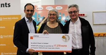 Apartur recauda 17.278 euros para el Casal dels Infants en la campaña...